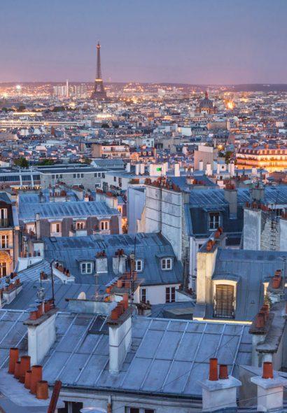 Sur les toits de Paris…